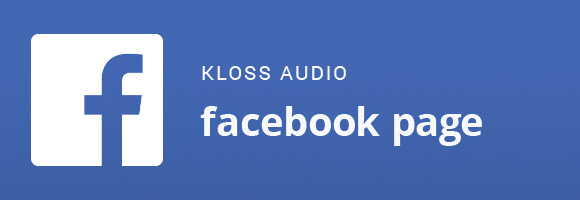 Facebook – KLOSS AUDIO