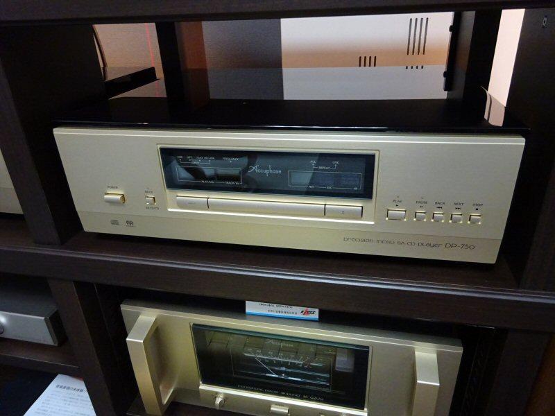 アキュフェーズDP-750展示しました