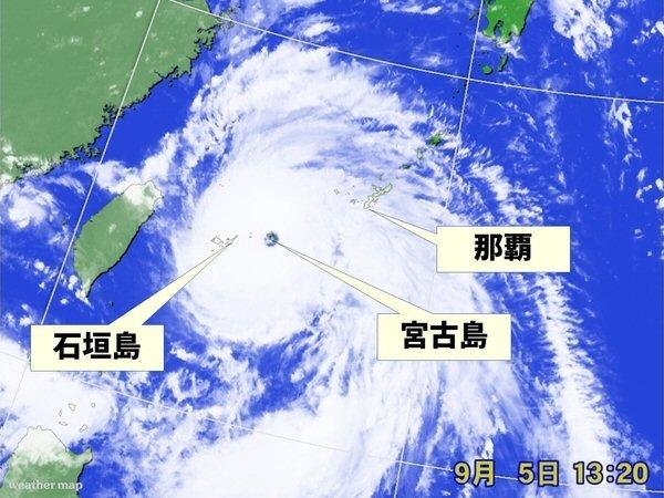 クロスオーディオ宮古島旅行 台風…