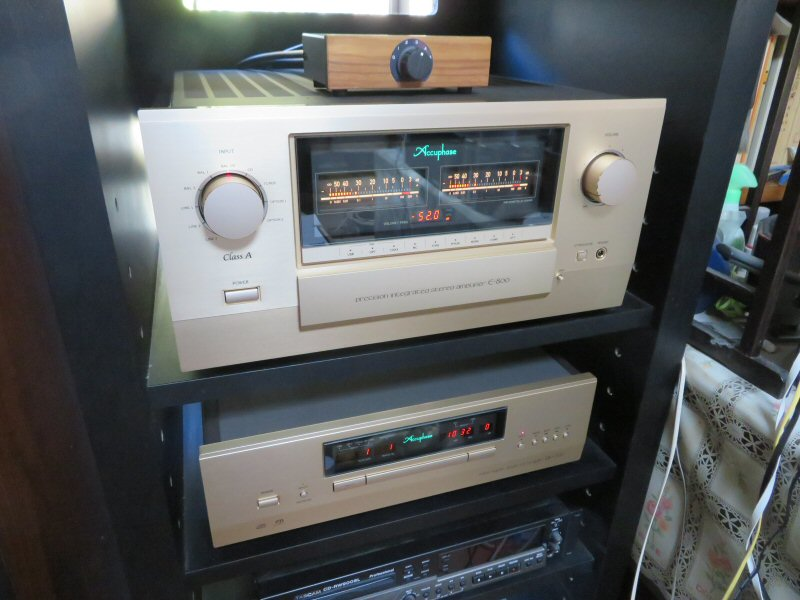 Accuphase E-800の配達