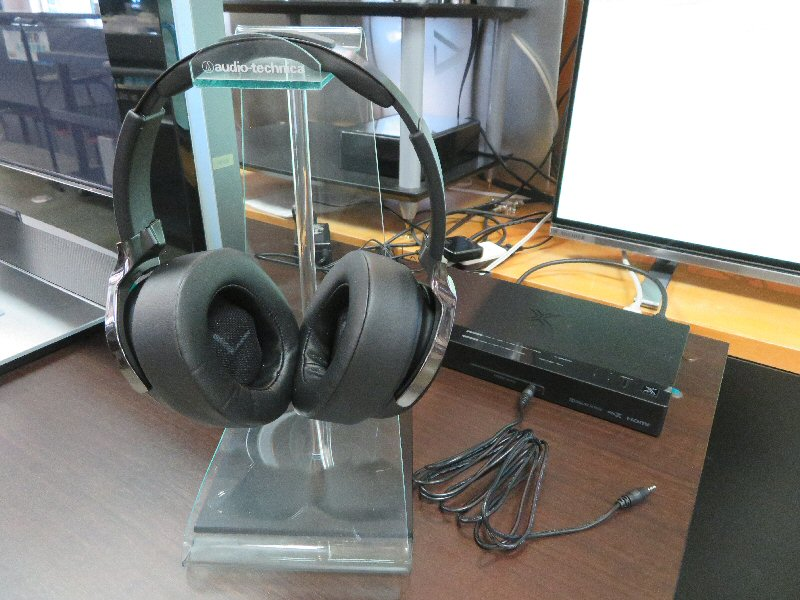 JVCワイヤレスヘッドホンシアターシステム展示しました