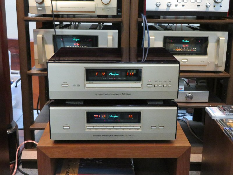 Accuphase DP-1000&DC-1000試聴できます